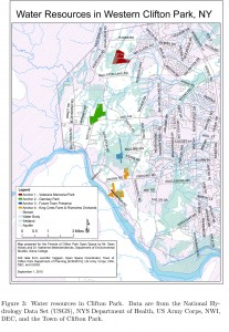 Western Clifton Park-Water Resources